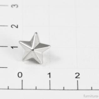 Заклепки звездочки 10 мм никель