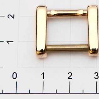 Ручкодержатель для сумок 15 мм золото