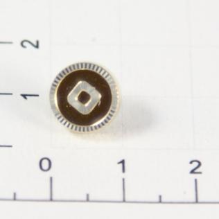 Заклепки граненые 10 мм золото