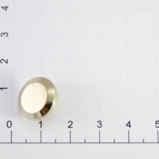 Хольнитен круглый 15 мм золото белое
