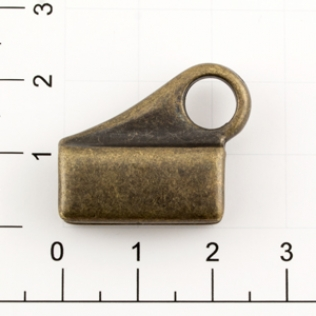 Держатель для карабина h-25 мм 7 мм антик