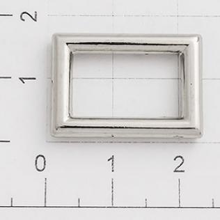 Рамка 16 мм никель