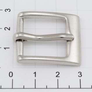 Пряжка для ремня 20 мм никель