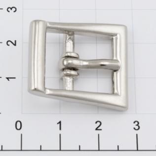 Пряжка для ремня 16 мм никель