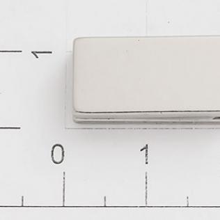 Магнит потайной прямоугольный 20 мм никель