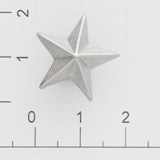 Заклепки звездочка 20 мм никель