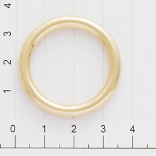 Кольцо для сумки 25 мм золото