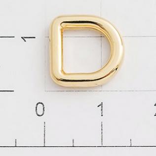 Полукольцо для сумок 8 мм золото