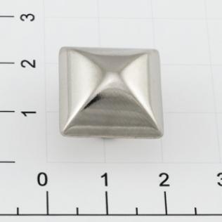 Заклепки квадратные 4 грани 17 мм никель