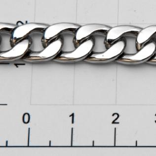Цепочка для сумки (тип 125) 9 мм никель