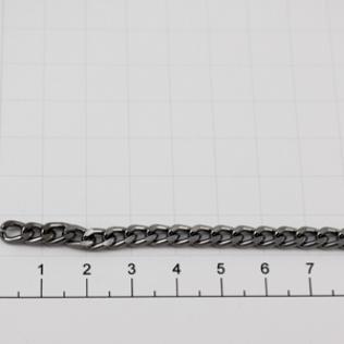 Цепочка для сумки (тип A31) 5 мм оружейный металл