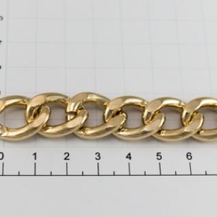 Цепочка для сумки (тип A75) 16 мм золото