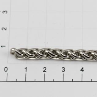 Цепочка для сумки (тип F88) 6 мм никель