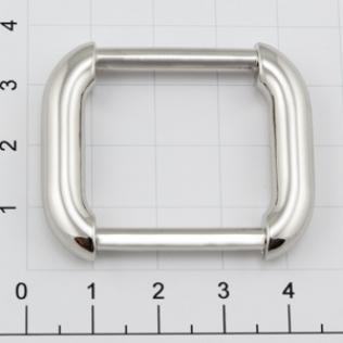 Рамка 24 мм никель