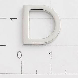 Полукольцо для сумок 10 мм никель