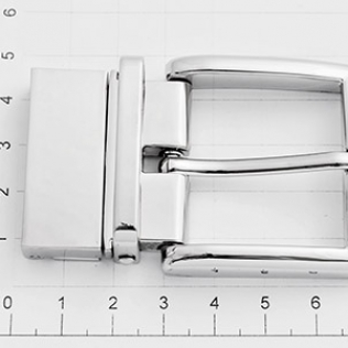 Пряжка поворотная для ремня 35 мм никель