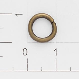 Кольцо h-2,0 7 мм антик