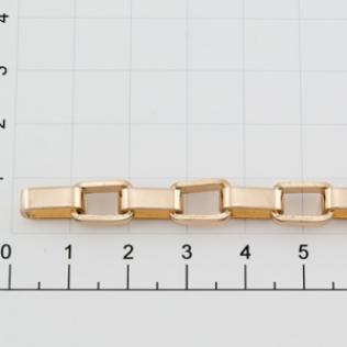 Цепочка для сумки (тип F108) 7 мм золото