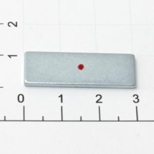 Магнит потайной прямоугольный 30 мм никель