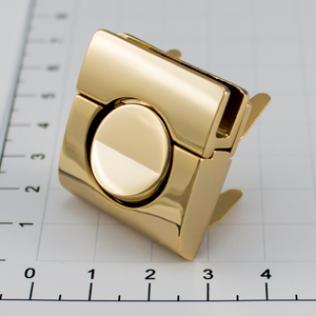 Замок для сумки 30 мм золото