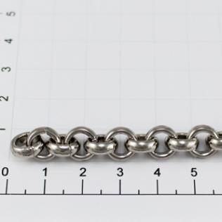 Цепочка для сумки (тип 970) 9 мм никель