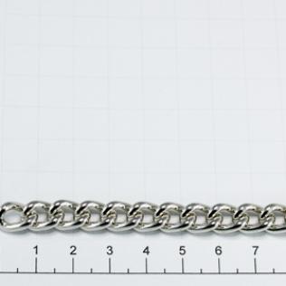 Цепочка для сумки (тип 250) 7 мм никель